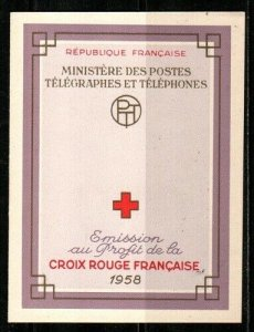 France Scott B327a Mint NH booklet