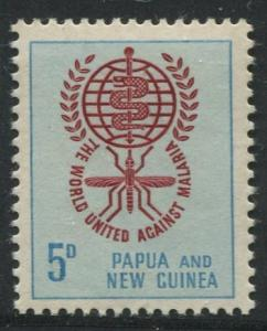 Papua New Guinea- Scott 164 -General Issue -1962 - MNH - Single 5p - Stamp