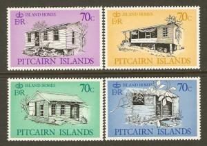 Pitcairn Islands #285-8 NH Island Houses