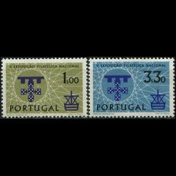 PORTUGAL 1960 - Scott# 868-9 Phil.Exhib. Set of 2 NH