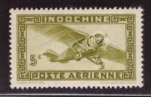 French Indo-China Scott C18A MH* Vichi Airmail without RF