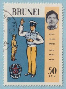 BRUNEI 167  USED - NO FAULTS EXTRA FINE !