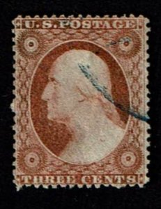 Scott #25 VF-used. SCV - $187.50