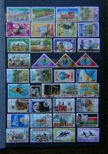 Kenya 1976 1984 Commemorative issues high values Trains Olympics etc Used