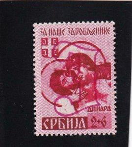 Serbia: German Occupation: Sc 2NB9a, MH (42164)