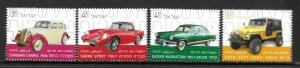 2014   ISRAEL  -  SG. 2302 / 2305  -  AUTOMOBILE INDUSTRY  -  MNH