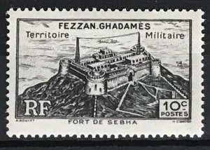 Libya Fezzan-Ghadames #1N1 MH CV$0.35