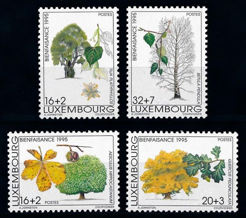[69867] Luxembourg 1995 Flora Trees Baumen  MNH