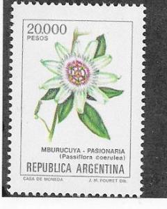 Argentina #1526  5a Cactus Flower   (MNH) CV$1.25