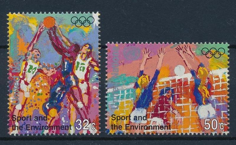 [42954] UN New York 1996 Olympic Games Atlanta Basketball Volleybal MNH