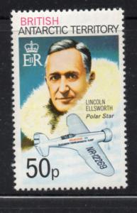 British Antarctic Territory Sc 58 1979 50 p Ellsworth stamp mint NH