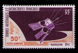 FRENCH SOUTHERN ANTARCTIC TERR SC#C11 MH FVF Satellite Orbit