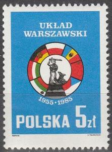 Poland #2677 MNH VF (V2375)