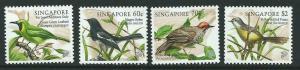 SINGAPORE SG919/22 1998 SONGBIRDS MNH
