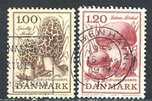 Denmark 1978: Sc. # 624-625: O/Used Cpl. Set