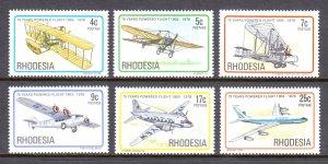 Rhodesia - Scott #408-413 - MNH - SCV $2.85