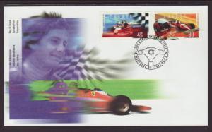 Canada 1647-1648 Auto Racing 1997 U/A FDC