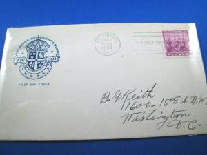 U.S. FDC - SCOTT # 836 - SWEDEN