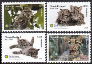 NIUAFO'OU 2021 LEOPARDS WILD ANIMALS ANIMAUX SAUVAGES WILDE TIERE [#2101]