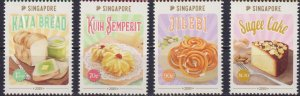 Singapore 2019 Gastronomy - Traditional Confections  (MNH)  - Food