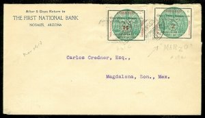 EDW1949SELL : MEXICO Rare Seal Issues on cover.