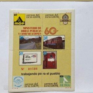 SOUV SHEET MIS=NISTRO DE OBRAS PUBLICAS …, PUBLIC WORKS IN ECUADOR