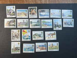 GUERNSEY # 283-302-MINT NEVER/HINGED--COMPLETE SET--1984-85