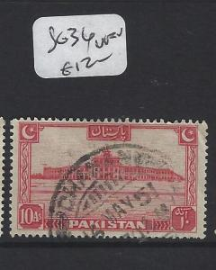 PAKISTAN (P2404B) SG 34   VFU