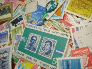 Uruguay 1700 DIFFERENT stamps used & mint COLLECTION high catalogue value $$