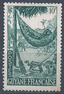 French Guiana - SC# 192 - MNG - SCV $0.25