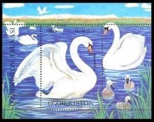 2010 Uzbekistan 856/B54 Birds 5,80 €