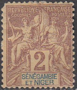 Senegambia & niger #2 MH