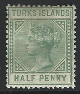 Turks  Islands MINT  S.C. 48