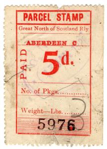 (I.B) Great North of Scotland Railway : Parcel 5d (Aberdeen)