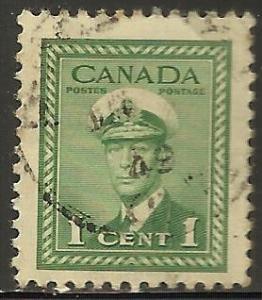 Canada 1942 Scott# 249 Used