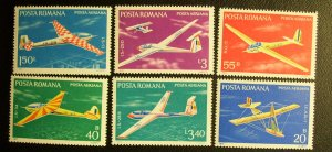 Romania Scott #C206-211 unused