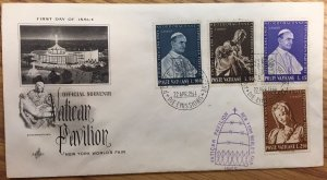 Vatican Collection 1964 (2 post cards + FDC + guide book)