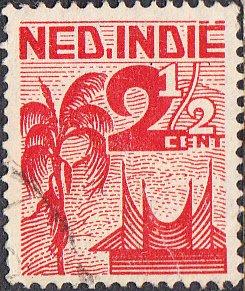 Netherlands Indies #265  Used
