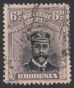 Rhodesia 127 Used CV $8.75