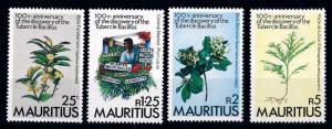 [65901] Mauritius 1982 Flora Medicinal Plants From Set MNH