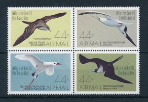 [23141] Marshall Islands 1987 Birds Vögel Oiseaux Ucelli Very Nice Set MNH