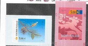 Finland #1171-1172 self adhesive  (MNH ) CV$27.00