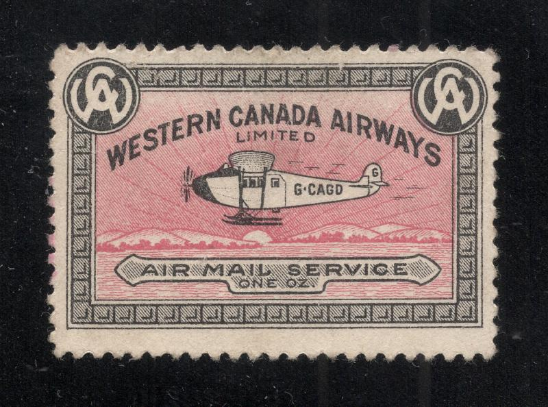 Canada #CL40 Black & Pink - Private Commercial Airline - Unused