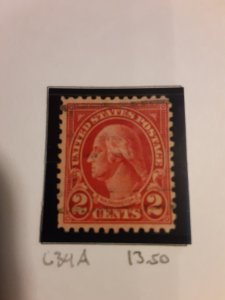United States #634A               Used