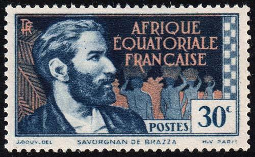 French Equatorial Africa - Scott 43 - Mint-Hinged
