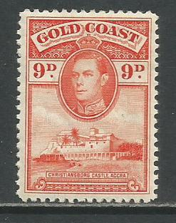 Gold Coast  #122  MH  (1938)  c.v. $1.10