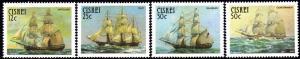Ciskei - 1985 Sail Troopships Set MNH** SG 81-84
