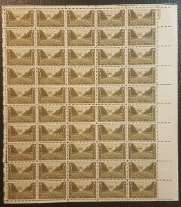 U.S. #934 Full sheet  honoring the U.S. Army