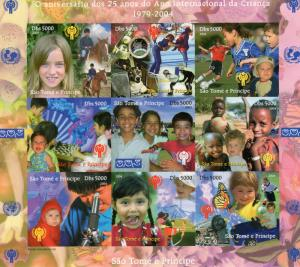 Sao Tome and Principe 2004 International Year of the Child (ICY) Shlt.Imper.(9)