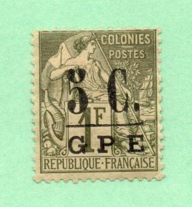 Guadeloupe - Sc# 11 MH  /  Lot 0319021